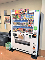 医務室前スペース 清涼飲料水自販機